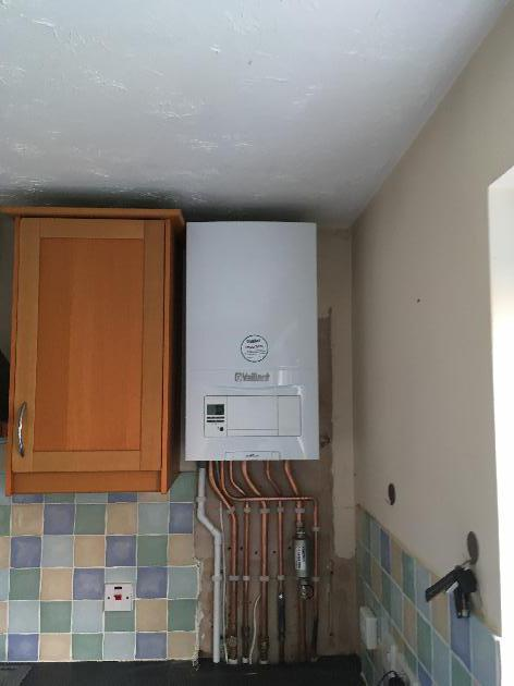 Vaillant Ecofit pure ready for a new kitchen